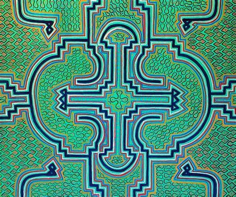design pattern amazon ken 233 shipibo vibrational design song of the amazon