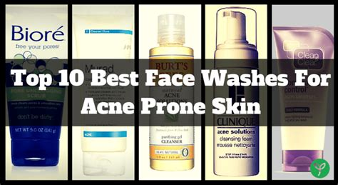 Best Detox For Acne Skin by 10 Best Acne Washes Cleansers Of 2017 Which Do