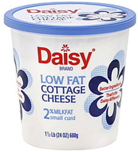 Calories In A Cup Of Lowfat Cottage Cheese by Cottage Cheese Small Curd 2 Milkfat Low 24 0