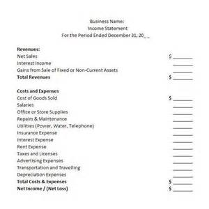 template for income statement and balance sheet best photos of balance sheet income statement template