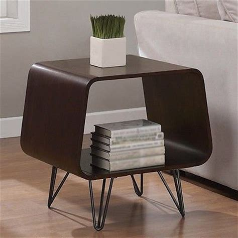 60s style coffee table mid century modern retro end table vintage side coffee