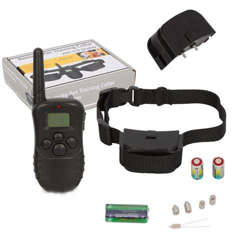 vibrating collar vibration anti bark collar remote