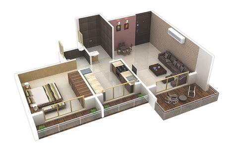 แปลนบ าน 1 ห องนอน 171 บ านไอเด ย เว บไซต เพ อบ านค ณ House Plans 1 Bedroom Apartt 3d Floor