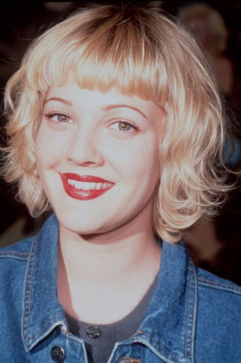 bob hairstyles drew barrymore 29 of the best bob haircuts in history bobs the flowers