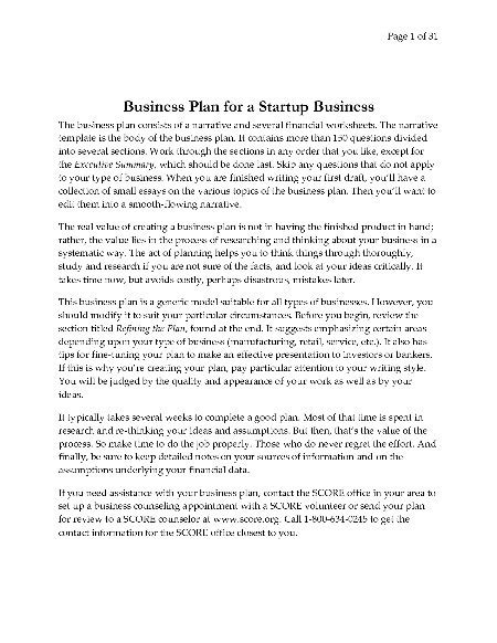 Business Plan Template For Financial Advisors business plan template for financial advisors