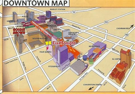 fremont las vegas map 1000 images about vegas downtown fremont on