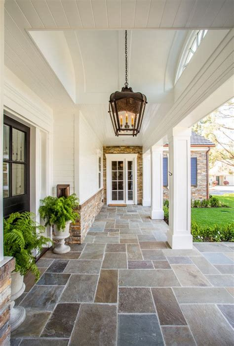 Brick Porch Floor by 25 Best Ideas About Porch Flooring On