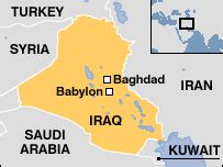 middle east map baghdad news world middle east army base has damaged