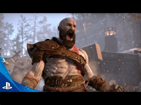 sony announces a new 'god of war' game at e3 2016 | ubergizmo
