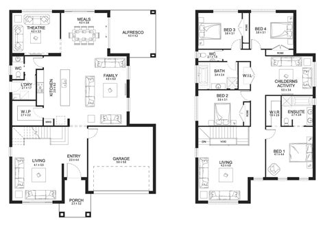 design basics two story home plans two story house floor plans house plan 2017