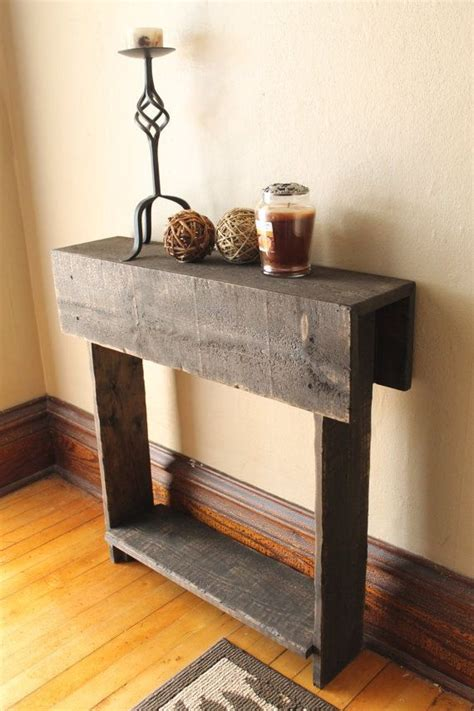 Tables For Entrance Ways Entry Way Table Rustic Console Table Reclaimed Wood