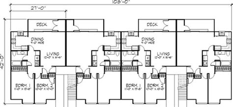 multi unit house plans multi unit house plans home design ls h 5931 a8