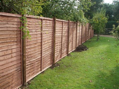 Timber Fence Panels Panel Fencing West Fencing