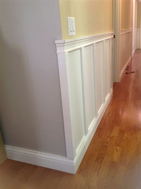 How To Wainscot by Wainscoting Outside Corner For The Home