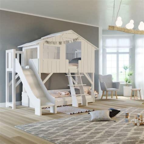 letti con scivolo scivolo per letto di design cabana per bambini a forma di