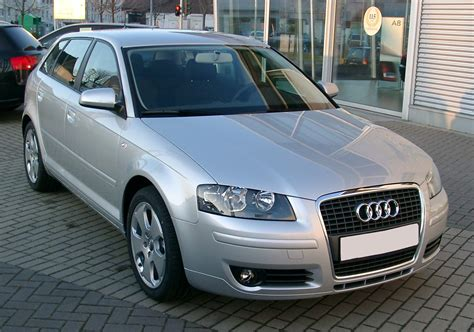 File:Audi A3 front 20071220 Wikimedia Commons