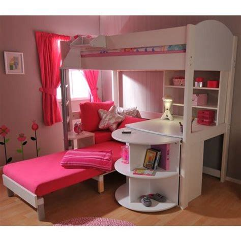 girls bunk bed with desk 99 best muebles images on pinterest bedroom ideas