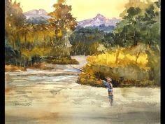 watercolor tutorials larry hamilton 1000 images about art demonstrations on pinterest