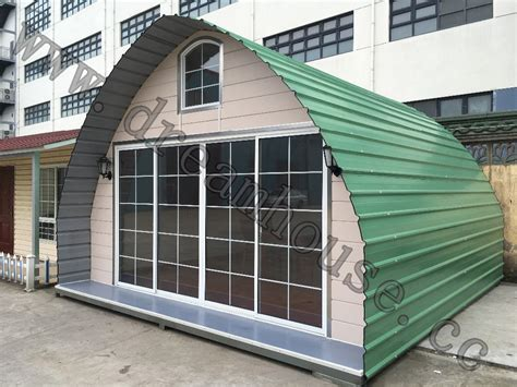 prefabricated arched cabins prefab arched cabin comfortable bungalow prefabricated