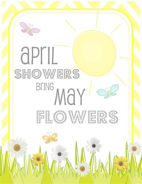 April Showers Bring showers bring may flowers quotes quotesgram