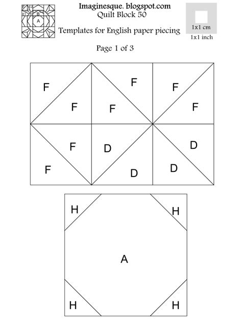 paper piecing templates for quilting imaginesque quilt block 50 pattern paper