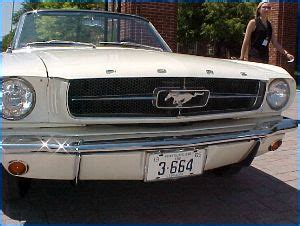 first mustang ever made the first mustang