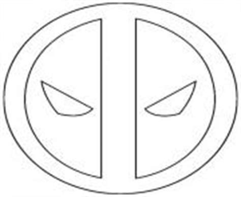 deadpool symbol coloring pages deadpool coloring pages color online free printable