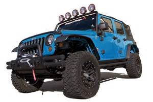 Jk Jeep Fenders High Clearance All Terrain Flat Fender Flares For 2007 10