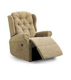 woburn power fabric recliner made in the uk