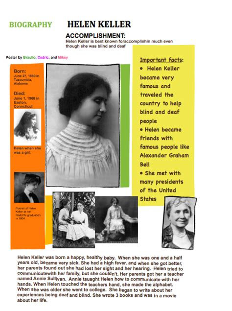 biography and autobiography poster 2012 2013 biography posters mrs johnson s class