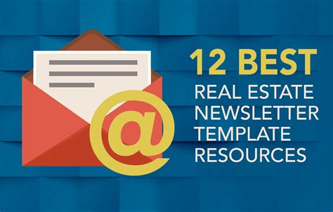 12 Best Real Estate Newsletter Template Resources Placester Best Real Estate Templates
