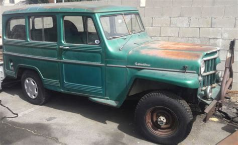 jeep station wagon for sale 1958 willys jeep station wagon for sale willys wagon