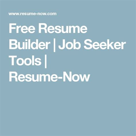 free resume builder tool best 25 free resume builder ideas on resume
