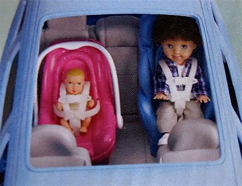 barbie cars with back seats barbie happy family volvo v70 vehicle van suv w car seat w