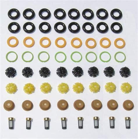 bmw fuel injector service bmw v8 fuel injector service kit orings filters pintle