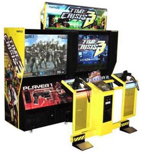 Under Cabinet Stereo Time Crisis 3 Videogame By Namco
