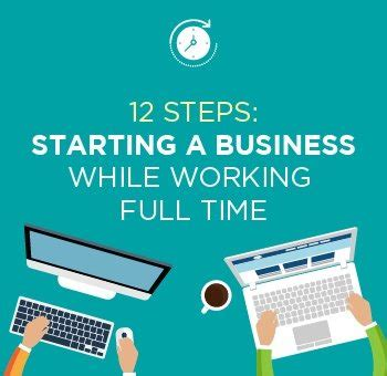How To Get An Mba While Working Time by 12 Steps Starting A Business While Working Time