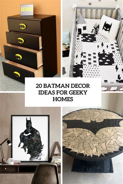 batman home decor archives shelterness