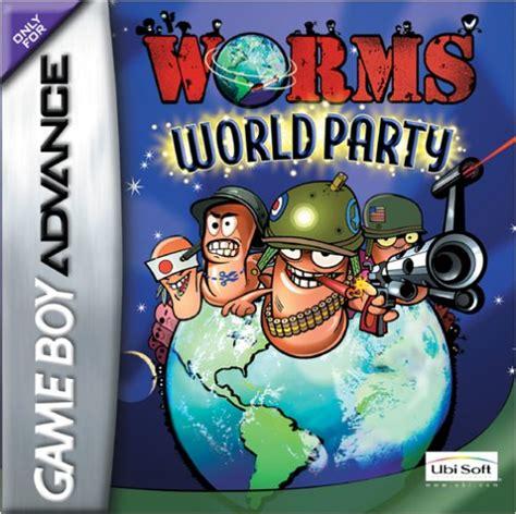 emuparadise roms gba worms world party u ongaku box art