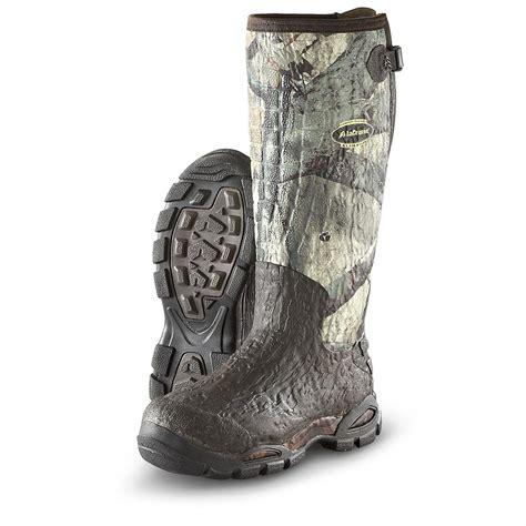 mossy oak boots lacrosse 174 alpha ii 5 0 mm boots mossy oak