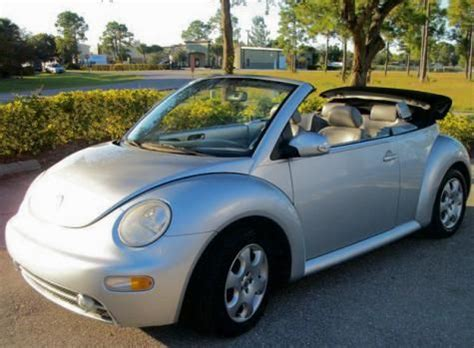 volkswagen beetle gls convertible    west florida cheap cars  sale pinterest