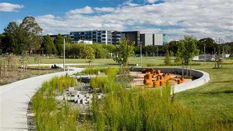 hassett park at cbell 5 wins green gong at national design awards