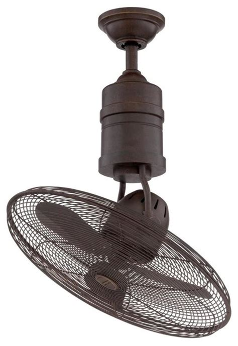 craftmade bw321ag3 21 quot rotating cage ceiling fan transitional ceiling fans by lighting front