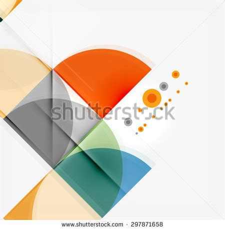 abstract pattern for paper presentation colorful geometrical modern art minimal template stock