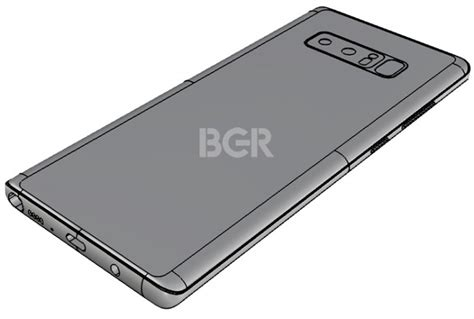 Samsung Note 8 Gsmarena new galaxy note8 leaked renders show bump confirm position of the fingerprint sensor