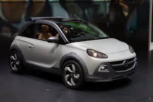 Opel Adam Specs 2013 Opel Adam Rocks Concept Images Specifications And