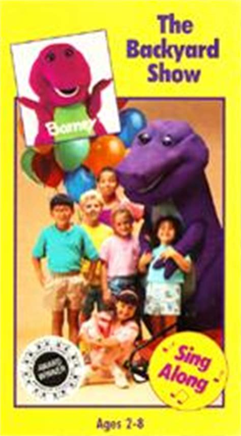 barney and the backyard gang dvd barney the backyard gang the backyard show twilight