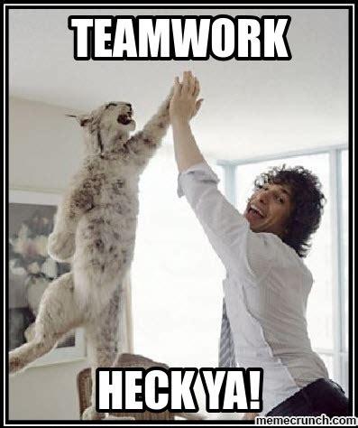 Meme Meme - teamwork