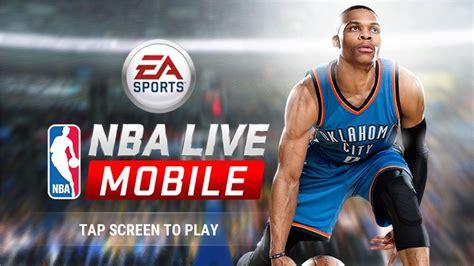 nba mobile app android nba live mobile jogo de basquete gratuito da ea para android e ios mobile gamer tudo sobre