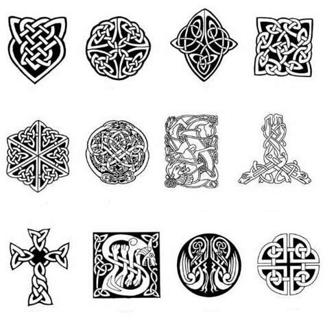 irish tribal tattoos meanings celtic meaning